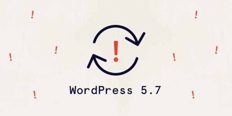 wordpress-5.7-update