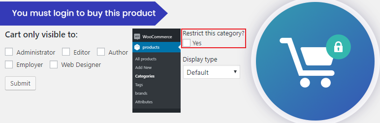 woocommerce cart restrictor